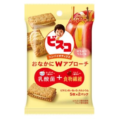 Glico 格力高 水果優格夾心餅乾蜂蜜蘋果(45.4g)