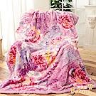 Betrise夢隱花 頂極日本1.5D拉舍爾超細纖維雙層保暖櫻花毯-大尺寸180x230