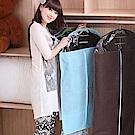 (買一送一)E.City_無紡布西服防塵罩收納掛袋共2入