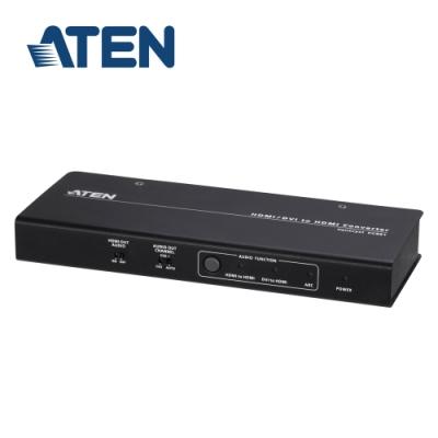 ATEN 4K HDMI / DVI轉HDMI訊號轉換器 - 具備音訊獨立輸出功能 (VC881)
