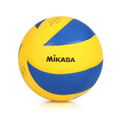 MIKASA 旋風型軟橡膠排球 藍黃