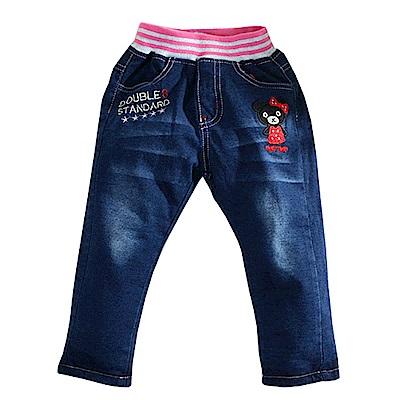 雙層加厚刷毛牛仔長褲 k60901 魔法Baby