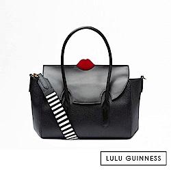 LULU GUINNESS FLO 手提/側背包 (黑)
