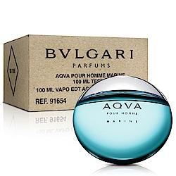 Bvlgari寶格麗 AQVA 活力海洋能量男性淡香水-Tester(100ml)