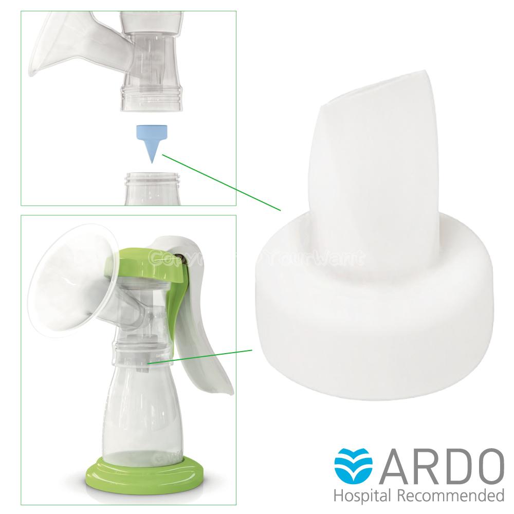 【ARDO安朵】瑞士吸乳器配件真空防逆流鴨嘴型白色活塞