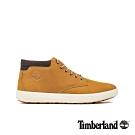 Timberland 男款小麥色磨砂革休閒鞋|A1Z3K