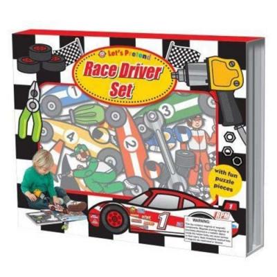 Let s Pretend:Race Driver Set 極速賽車手掀翻操作書(英國版)