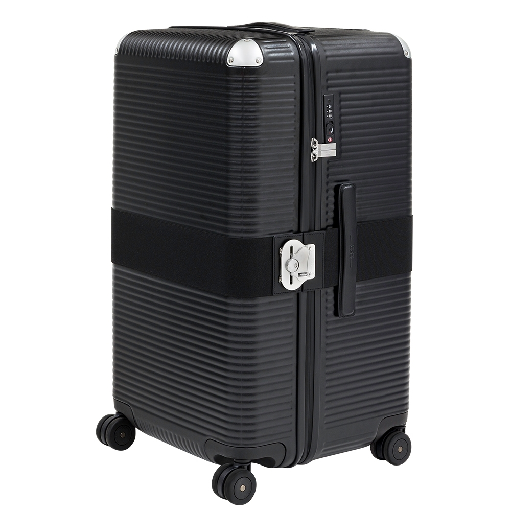 FPM MILANO BANK ZIP Eclipse Black 系列 27吋運動行李箱 日蝕黑 (平輸品)