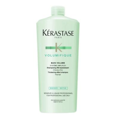 *KERASTASE 卡詩 豐凝髮浴1000ml含壓頭