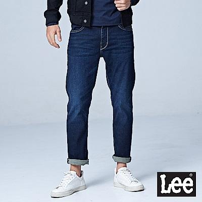 Lee 中腰舒適小直筒牛仔褲/UR