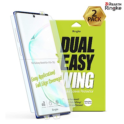 【Ringke】Note 10 Plus [Dual Easy Wing]螢幕保護貼-2入