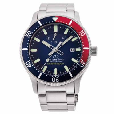 ORIENT STAR 東方之星 DIVERS 機械錶 系列 套錶贈膠帶 可樂圈 RE-AU0306L