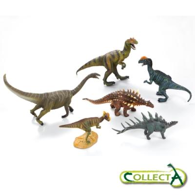 collectA 恐龍動物禮盒組(6入)~英國高擬真模型R89672