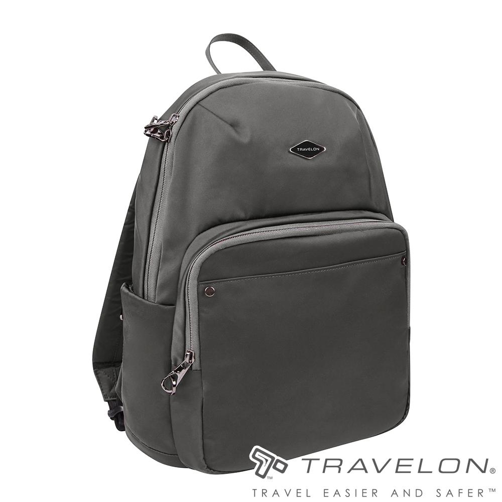 Travelon美國防盜包 PARKVIEW休閒旅遊防盜雙肩後背包TL-43410-19灰