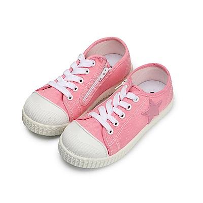 BuyGlasses 一顆大星星兒童休閒鞋-粉