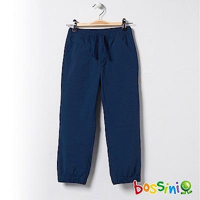 bossini童-彈性輕便保暖褲01海藍