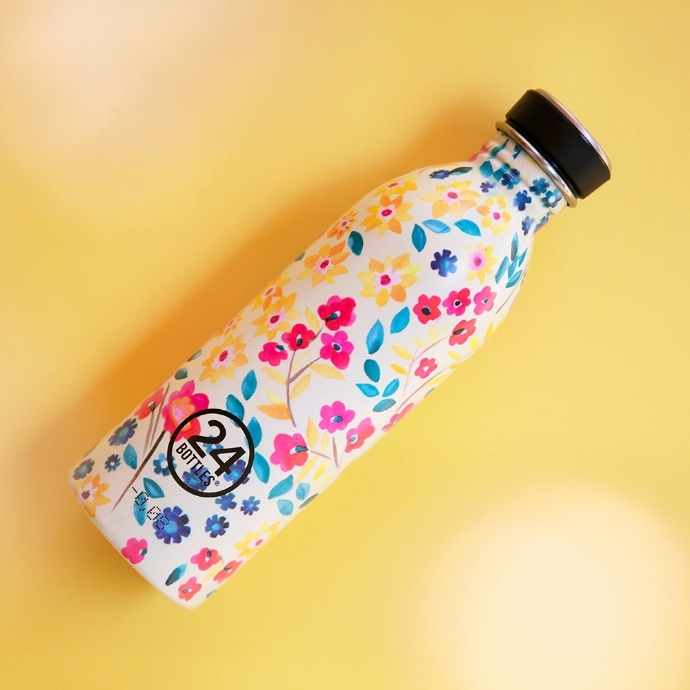 義大利24Bottles 輕量冷水瓶 500ml -花意盎然
