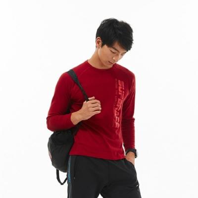 SUPERACE THOT路跑排汗衫 / 中性款 / 紅