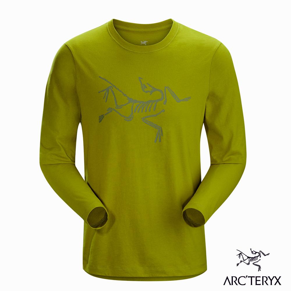 Arcteryx 24系列 男 LOGO長袖T恤 橄欖黃 @ Y!購物