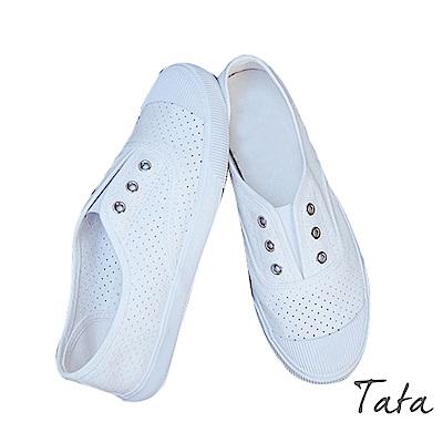 百搭透氣帆布鞋 TATA