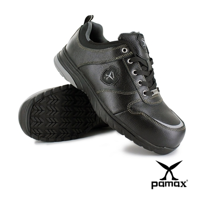 PAMAX帕瑪斯【運動休閒型頂級氣墊安全鞋】PS01710FEH-寬楦鋼頭-反光設計