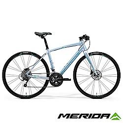 (無卡分期-12期)《MERIDA》平把跑車SPEEDER 400-Juliet 銀 2018