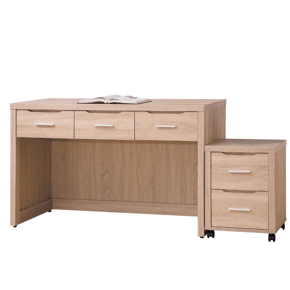 MUNA 京城橡木4尺書桌(不含活動櫃)  121X57.6X77cm