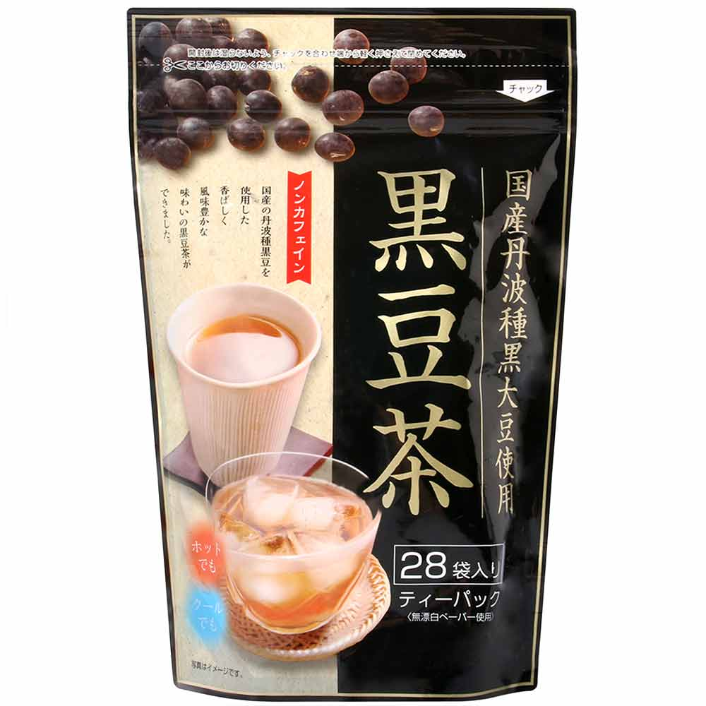 京都茶農業協同 丹波黑豆茶(140g)