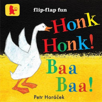 Honk Honk!Baa Baa! 咩~咩!呱~呱!動物聲音模仿書