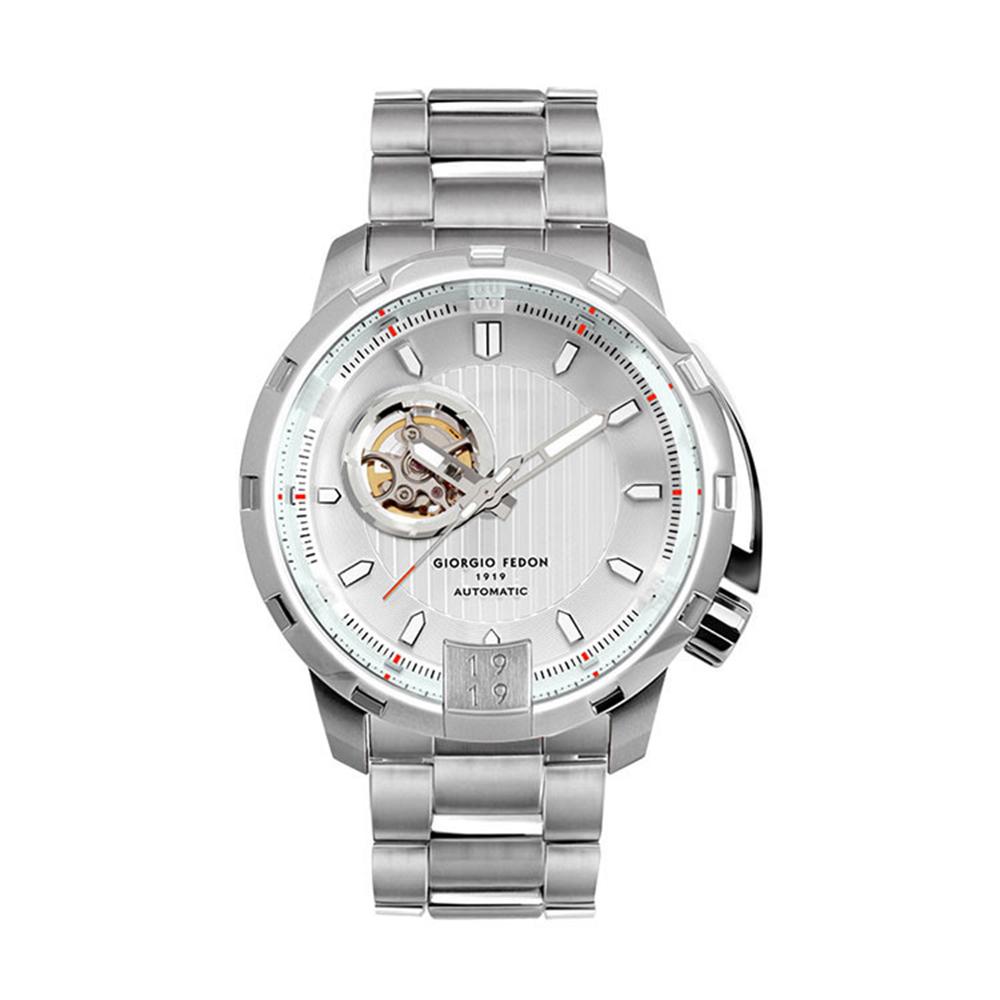 GIORGIO FEDON 永恆計時機械腕錶-白色(GFAQ006)