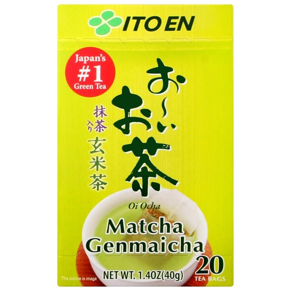 伊藤園 好喝玄米茶包-抹茶入(40g)