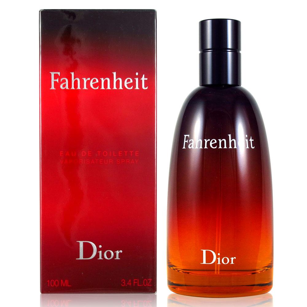Dior 迪奧 FAHRENHEIT 華氏溫度男性淡香水 100ml 附隨機針管香水乙份