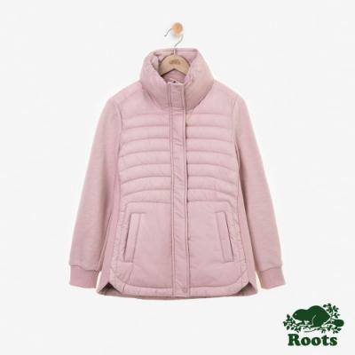 女裝Roots Journey 複合材質外套-粉色