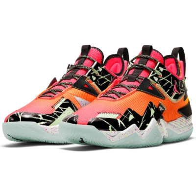 NIKE 喬丹 籃球鞋 包覆 緩震 運動鞋 男鞋 橘 CJ0781600 JORDAN WESTBROOK ONE TAKE PF