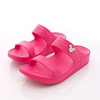 迪士尼童鞋米奇輕量涼拖鞋款FO64737桃大童親子段