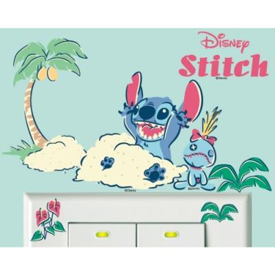 BID124 迪士尼開關貼 星際寶貝系列-玩沙吧