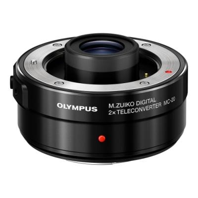 OLYMPUS M.ZUIKO MC-20 2X 增距鏡 黑 (公司貨)