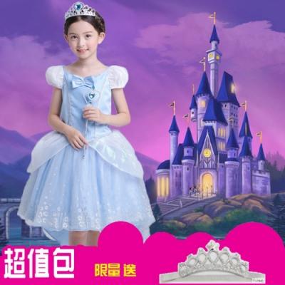 Kori Deer 可莉鹿 灰姑娘蓬裙公主服 女童萬聖節派對變裝禮服造型攝影寫真