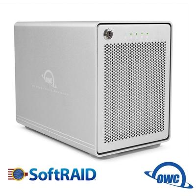 OWC Mercury Elite Pro Quad RAID Raid 5 / USB3.1 Gen 2 / 四槽硬碟外接盒)