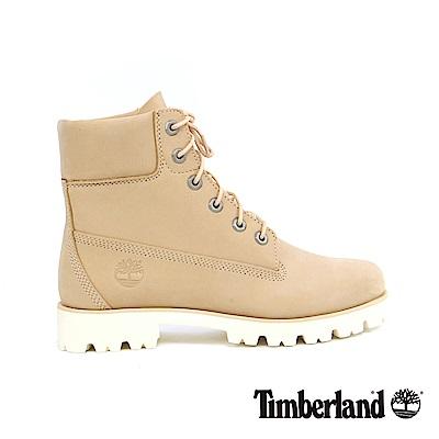 Timberland 女款淺黃色Heritage Lite 6吋靴