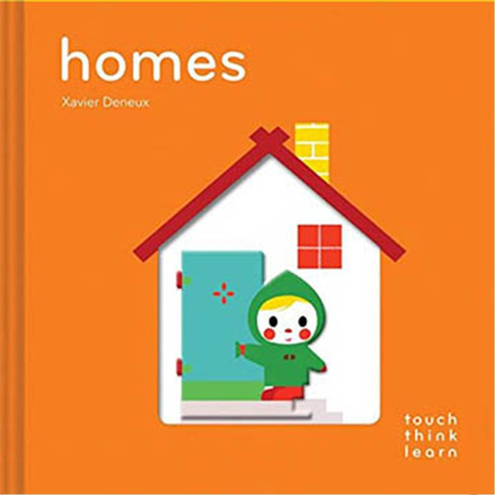 Touch Think Learn:Homes 住家厚紙硬頁認知書