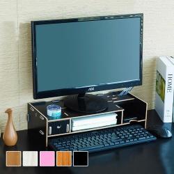 【VENCEDOR】電腦螢幕增高架 桌上收納盒 (A款)