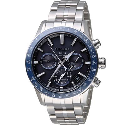 SEIKO ASTRON GPS 5X53 雙時區鈦金屬腕錶(SSH001J1)