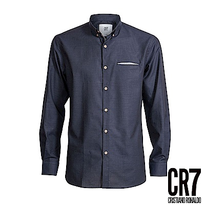 CR7-Slim Fit 深藍色襯衫(8651-7200-49)