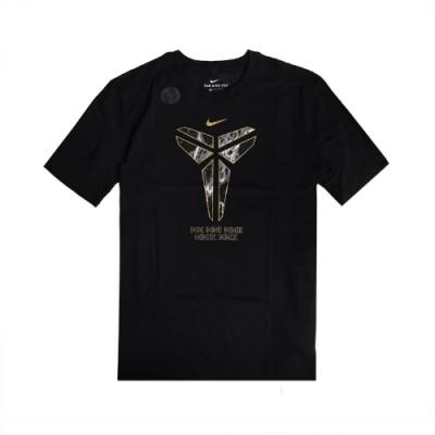Nike T恤 Kobe Logo T-Shirts 男款 Dri-FIT 奪冠紀念 曼巴 圓領 棉質 黑金 CD1327010