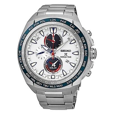 SEIKO PROSPEX世界城市太陽能計時腕錶/V195-0AB0S(SSC485P1)