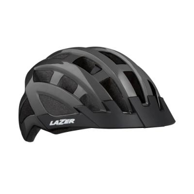 【LAZER】COMPACT 自行車安全帽 鈦灰