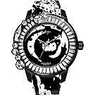 Galtiscopio 迦堤 Graceful 華藝綽約系列中國風潑墨手錶