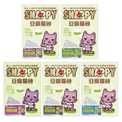 SNAPPY司那比豌豆纖維豆腐砂 3kg (六包組)