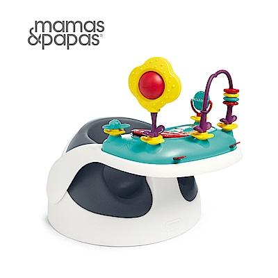 Mamas&Papas 二合一育成椅v2-潛艇藍(附玩樂盤)